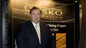 Sean Roosen, President and CEO of Osisko Exploration, is seen in this March 2008 file photo.