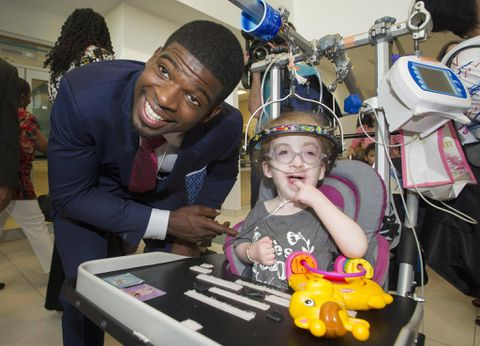 P.K. Subban pledges $10 million to Montreal Children's Hospital