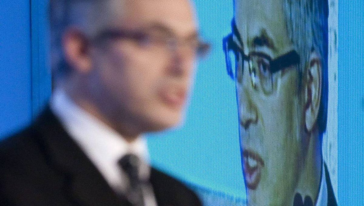 Industry Minister Tony Clement