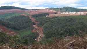 Site of Sherritt's Ambatovy mining project in Madagascar