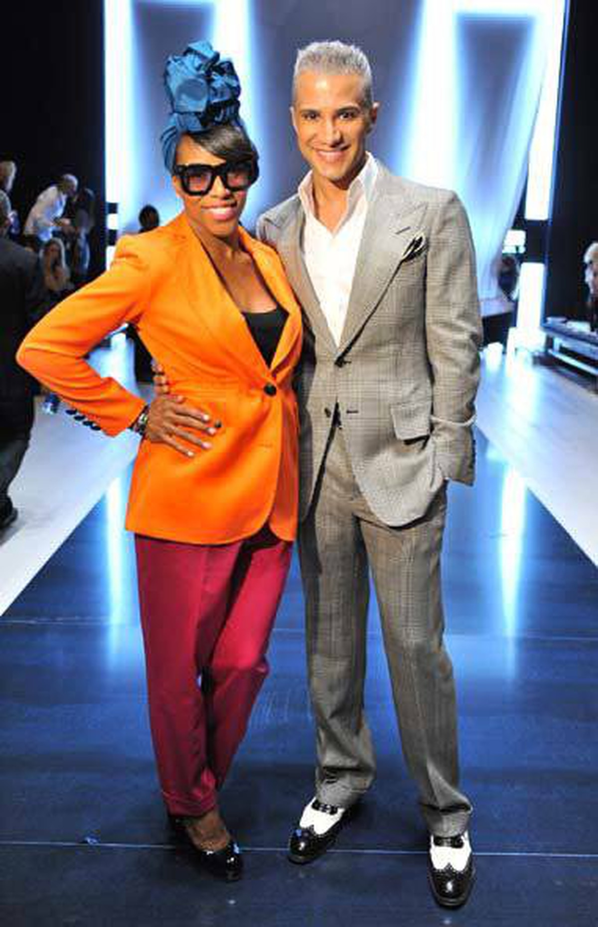 TV personality Jay Manuel poses with June Ambrose at the launch of his new Sears clothing line in Toronto last week. This is the kind of event that can only happen in Toronto, and it explains why the rest of the country is so jealous of the nation's largest city.