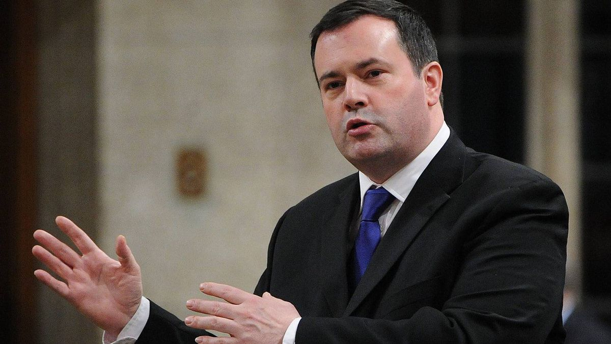 Minister of Immigration Jason Kenney speaks in the House of Commons on Feb. 7, 2012.