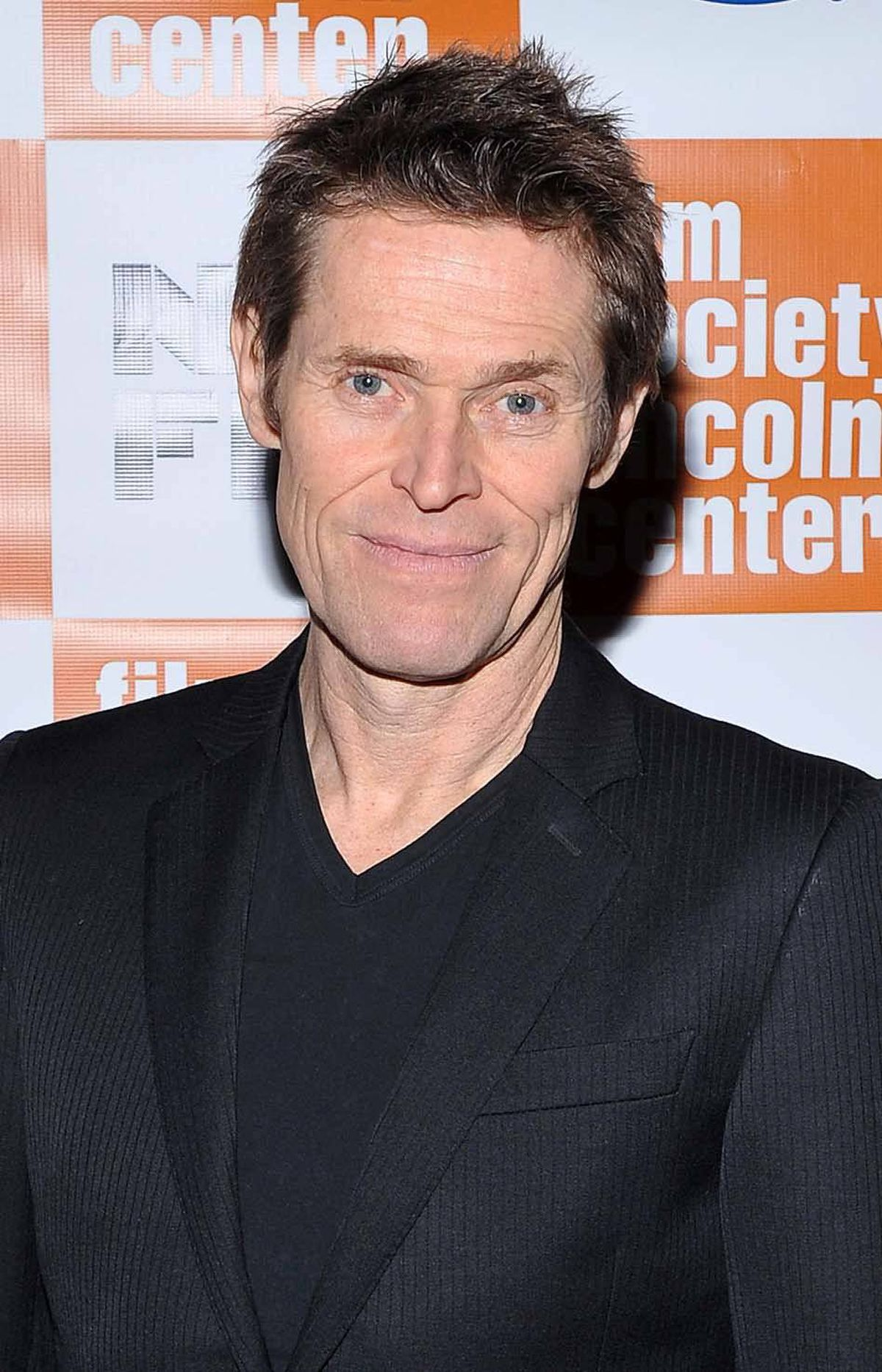 """""""Aww, look at the cute little complete nobodies,"""" says actor Willem Dafoe attending the """"4:44 Last Day On Earth"""" screening in New York."""
