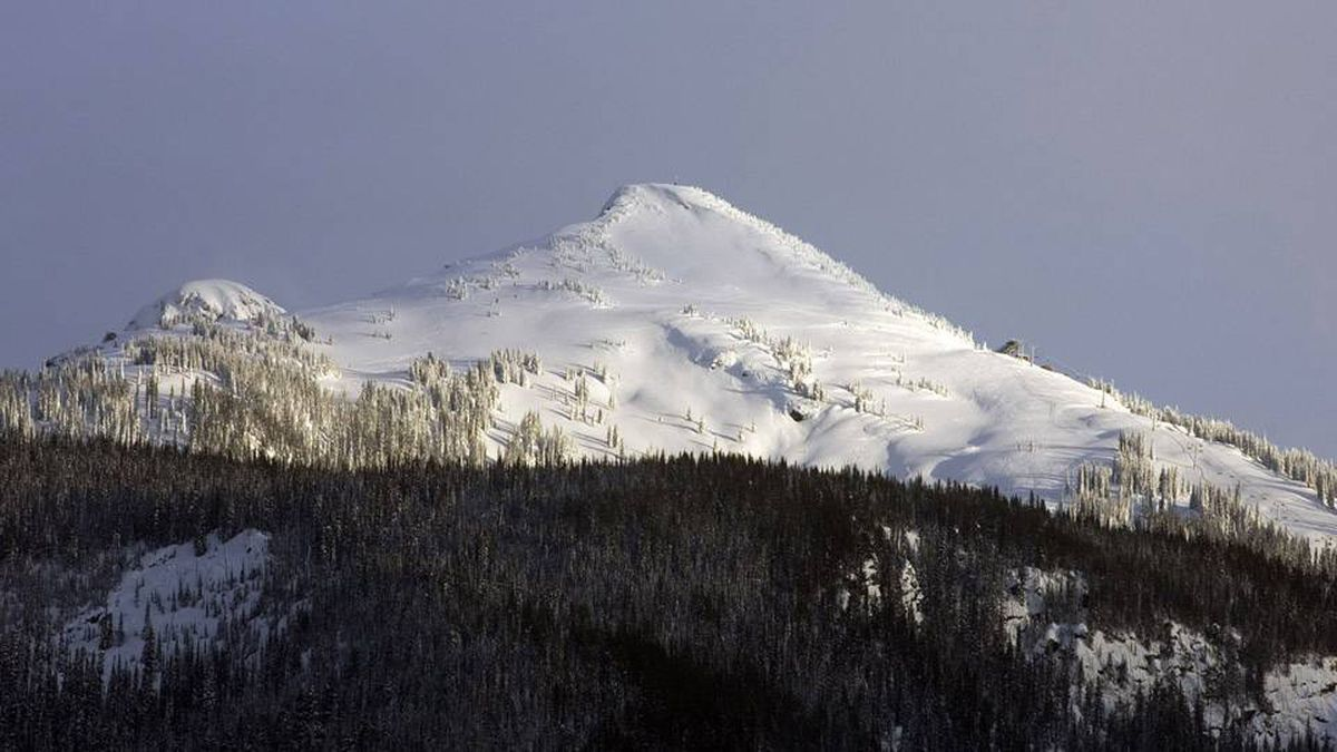 A view of the Revelstoke Mountain Resort. An avalanche occured near Revelstoke, on Boulder Mountain, killing three people March 13, 2010.