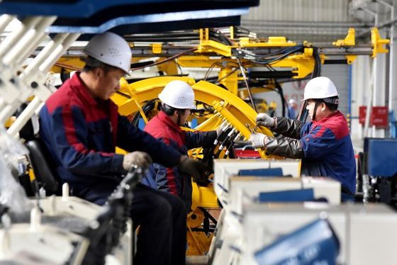Chinese industrial output growth falls to 17-year low as trade war escalates, retail sales disappoint