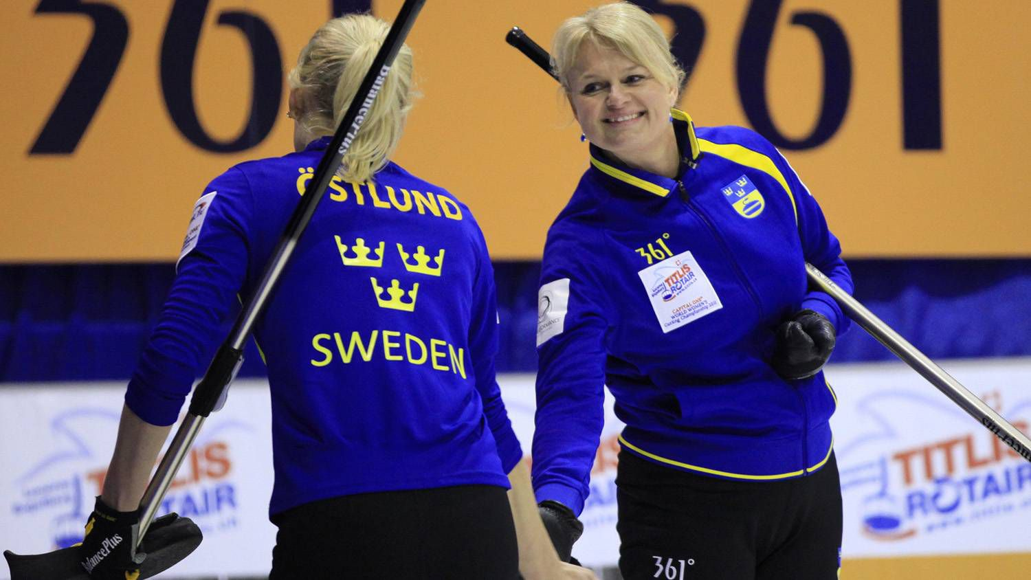 Anette Norberg sweden snaps canada's win streak at women's curling event
