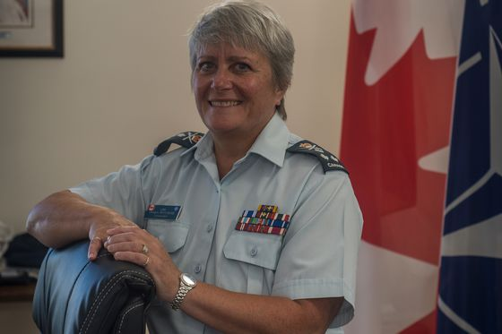 Canada's top female military officer prepares to hang up her highly decorated uniform