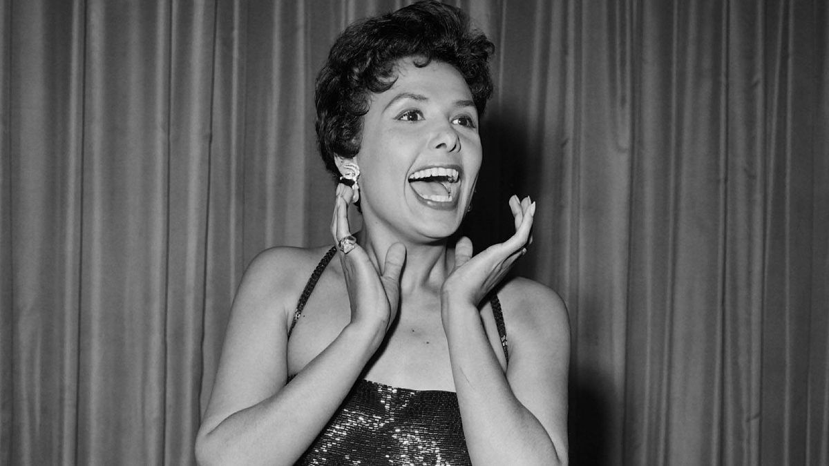 Lena Horne is seen in a file photo from the 1950s. AFP/Getty Images