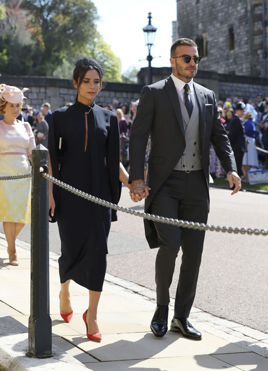 Oprah At Prince Harry Wedding.In Photos Oprah George Clooney And Royalty At Prince Harry And