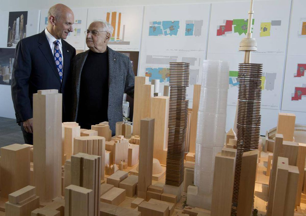 Frank Gehry and David Mirvish's tall order in Toronto - The
