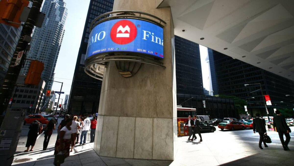 Bank of Montreal headquarters in Toronto
