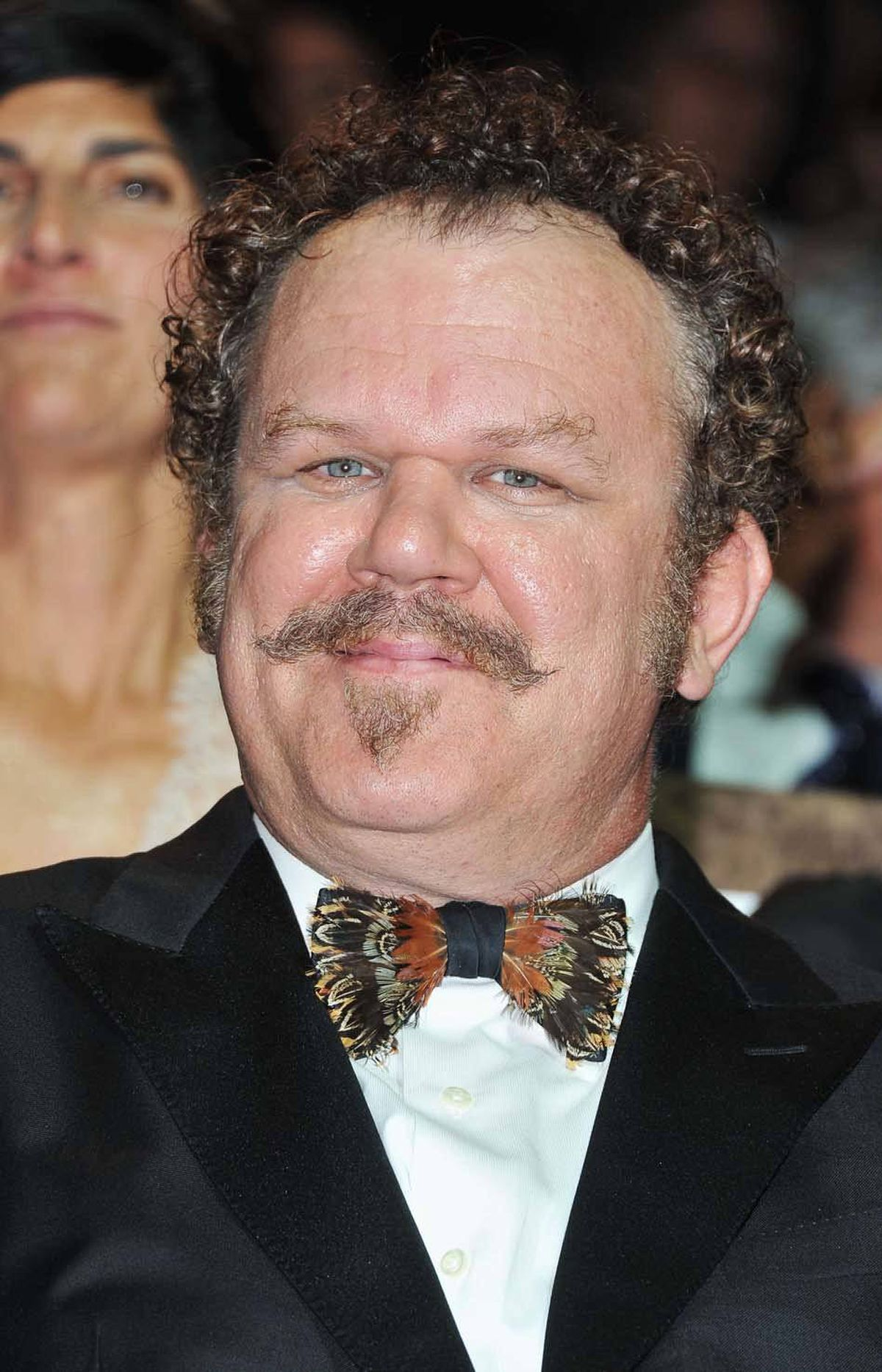 """Actor John C. Reilly attended the """"Carnage"""" premiere as a dashing gentleman."""