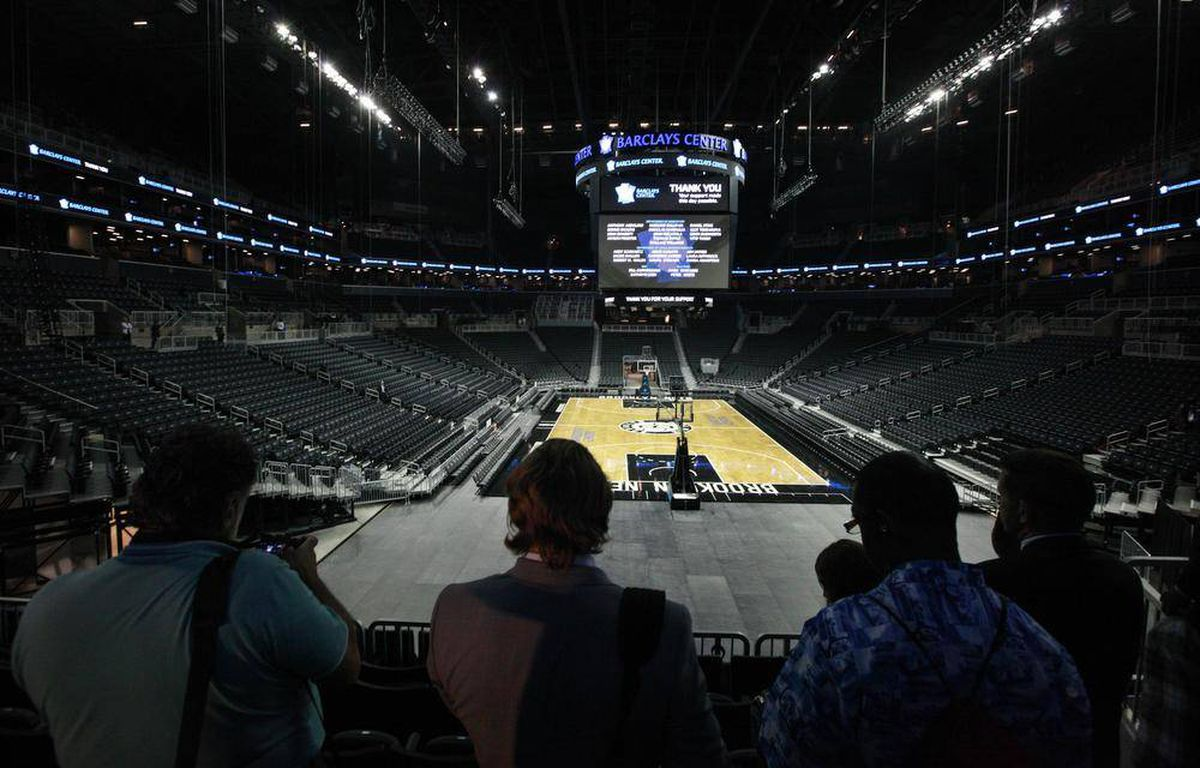 Tour The Barclays Center The Globe And Mail