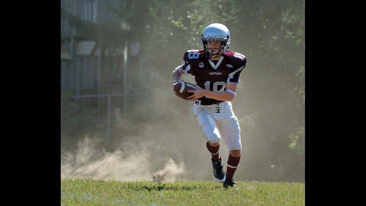 Taken at my son's September 18, 2011 football game.