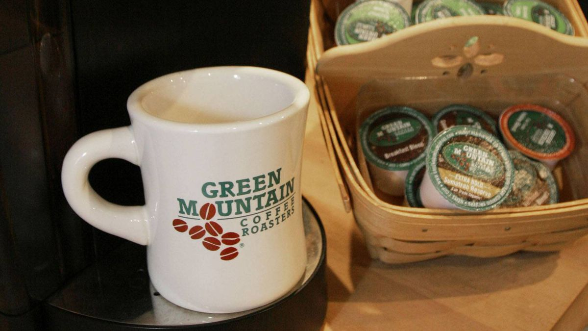 Green Mountain coffee stocks took a nose dive after the coffee maker badly missed sales projections.