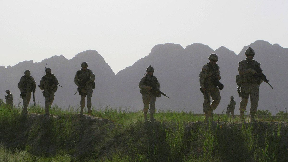 Canadian soldiers patrol an area in the Dand district of southern Afghanistan on June 7, 2009. Canadian soldiers have borne witness to some of the most tragic events of our times, as peacekeepers and as soldiers at war. As any veterans of the Great Wars can attest, those experiences can haunt them for years after they leave the battlefield.