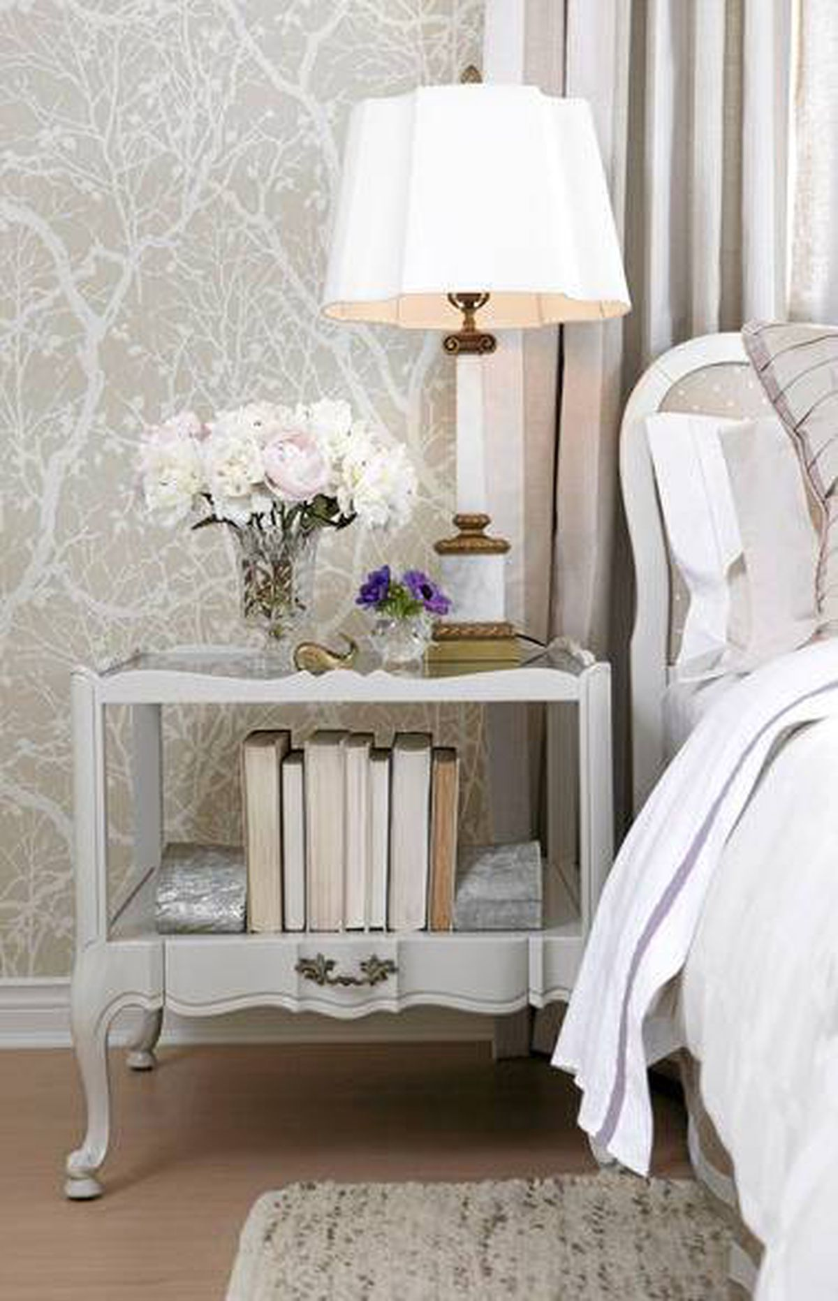 Sarah Richardson - master bedroom design.