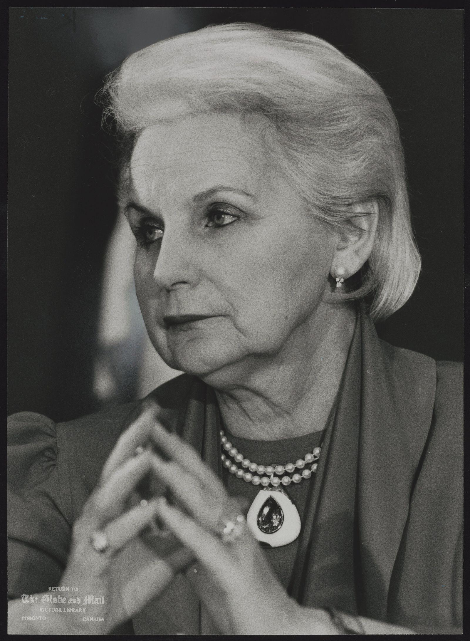 Jeanne SAUVE Canada. Governor General.