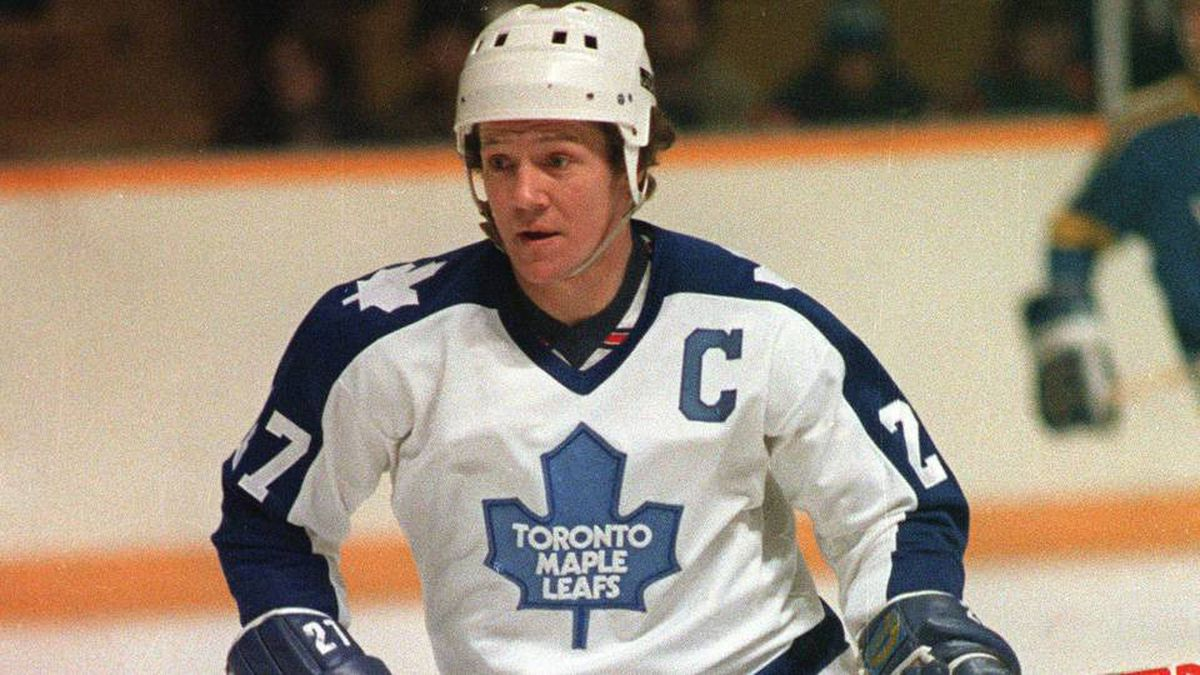 A Jan.7, 1982 file photo of Toronto Maple Leafs captain Darryl Sittler.