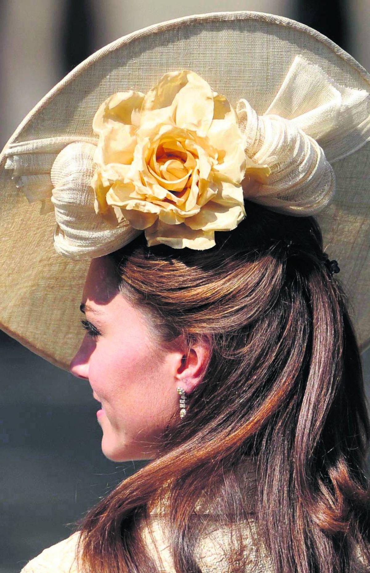 Catherine, Duchess of Cambridge: Palatial petals