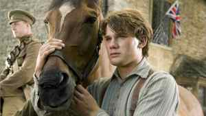 "Albert (Jeremy Irvine) and his horse Joey are featured in this scene from DreamWorks Pictures' ""War Horse."""