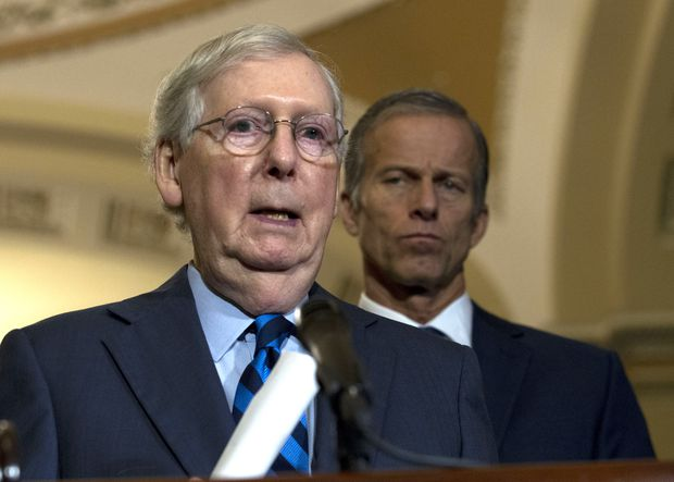 McConnell introduces legislation prodding Trump to keep troops in Syria