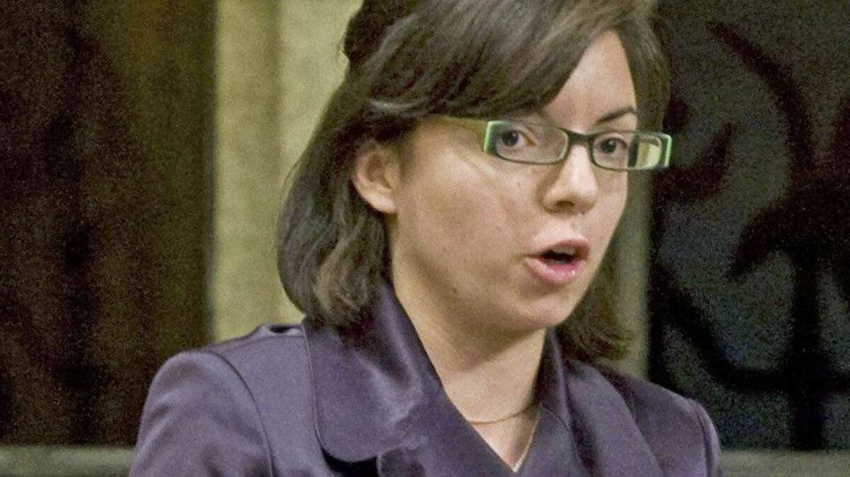 Niki Ashton, the NDP MP for Churchill, speaks during Question Period in the House of Commons on Oct. 9, 2009.