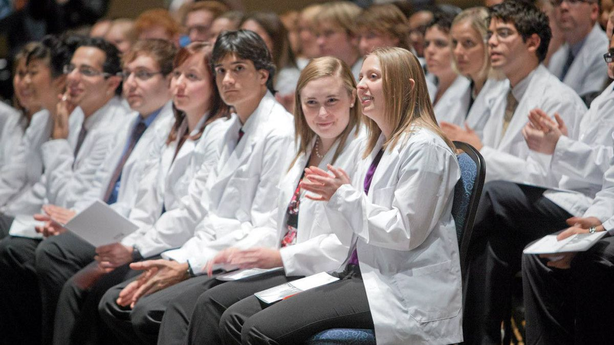 McMaster University medical students. The gender gap in precareer salary expectations is greatest in traditionally male-dominated fields, a study has found.