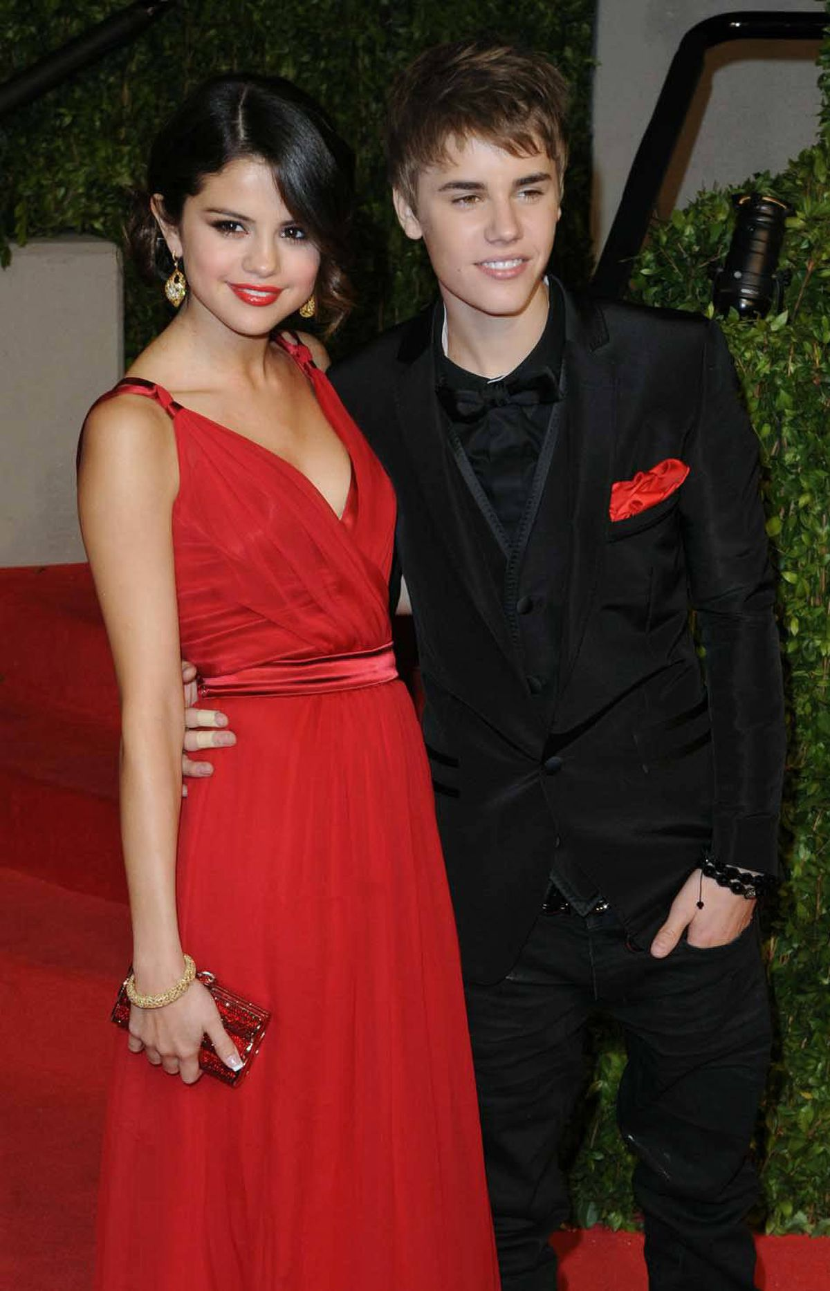Helping to turn February into the longest month of the year, Bieber and his girlfriend Selena Gomez hit the red carpet at the Academy Awards on Feb. 27. This wasn't a Leap Year, was it?