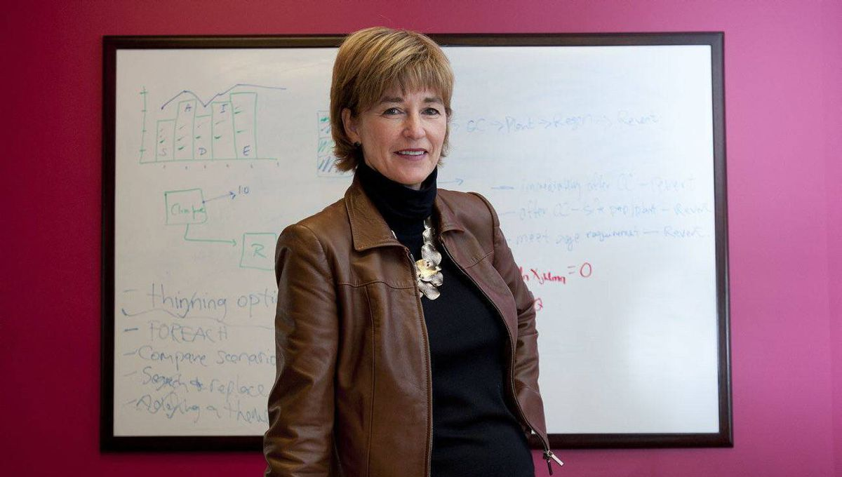 FREDERICTON, NB: November 22, 2011 - Andrea Feunekes, co-founder and co-CEO of Remsoft Inc., at the company's Fredericton office on Tuesday, Nov. 22, 2011.