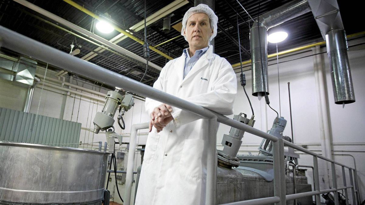 The food industry's long-term stability makes it crucial to Toronto's economy, says David Soknacki of Ecom Food Industries Corp., seen here April 4, 2012.