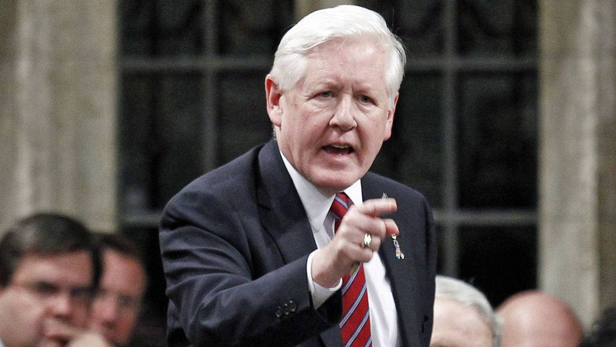 Interim Liberal Leader Bob Rae speaks during Question Period in the House of Commons on April 2, 2012.