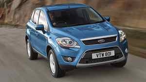 Ford Kuga crossover. Credit: Ford