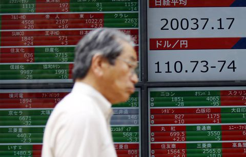 Asia stocks snap back into the red on simmering North Korea tensions