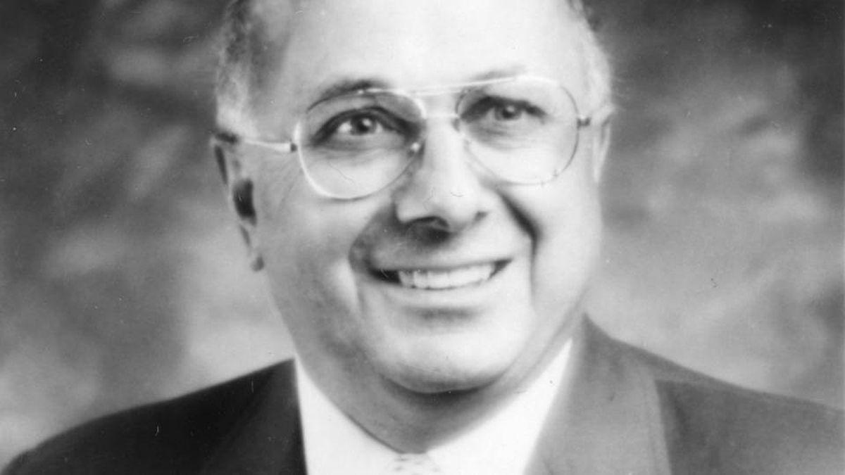 Ron Caron, hockey executive, in 1989.
