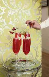 Having guests over? Warm them up right off the bat with a colourful pre-made drink. (Shown here, Alizé Red Passion combines fine cognac, passionfruit, cranberries and a hint of late-summer peach.) If you're serving food, add some welcome spice to your menu with piquant oils and rubs. Alizé Red Passion, $24.95 at most liquor stores.