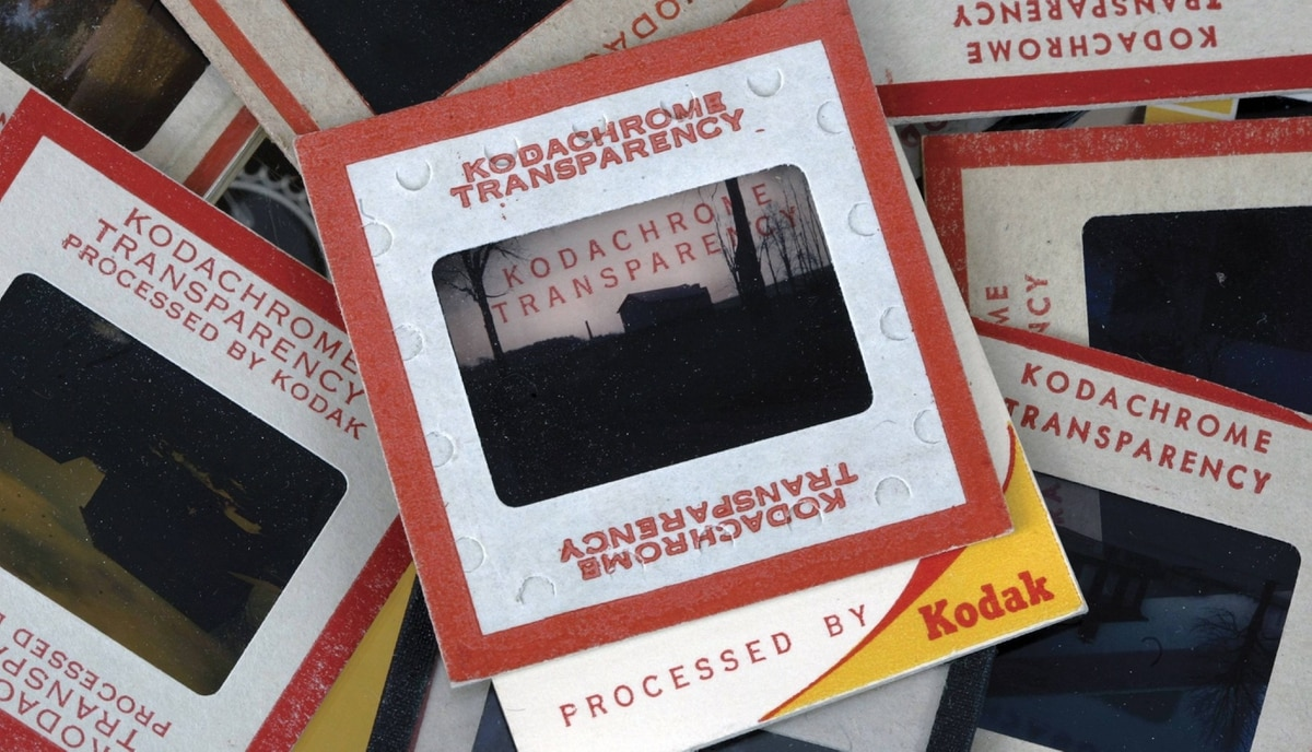 In this Sept. 4, 2008 file photo, Old Kodachrome slides are seen in Clarence, N.Y. The Eastman Kodak Co. retired its most senior film after 74 years in the company's portfolio because of declining customer demand in an increasingly digital age.