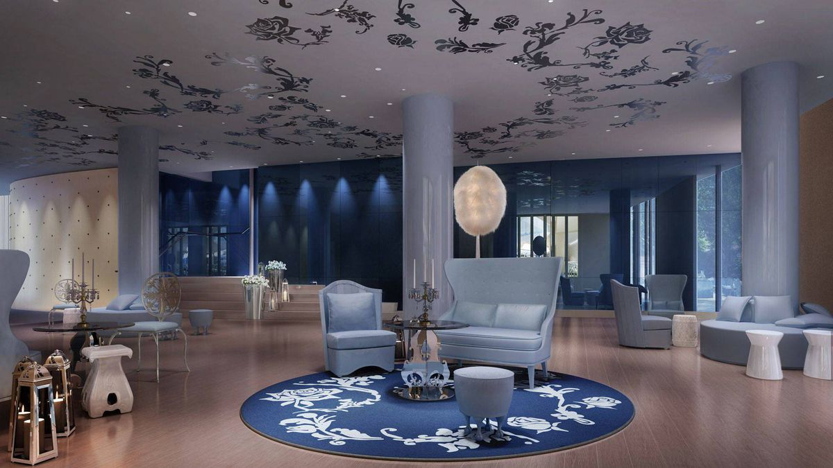The 1946 film La Belle et la Bête is the inspiration for the Mondrian Soho, opening in mid-Februrary in New York.