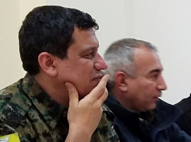 Commander of U.S.-backed Syrian force asks for 1,500 coalition troops to stay