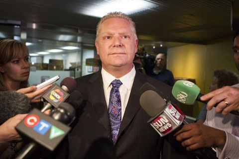 Doug Ford blasts councillors for taking 'gravy plane' to national municipality meeting