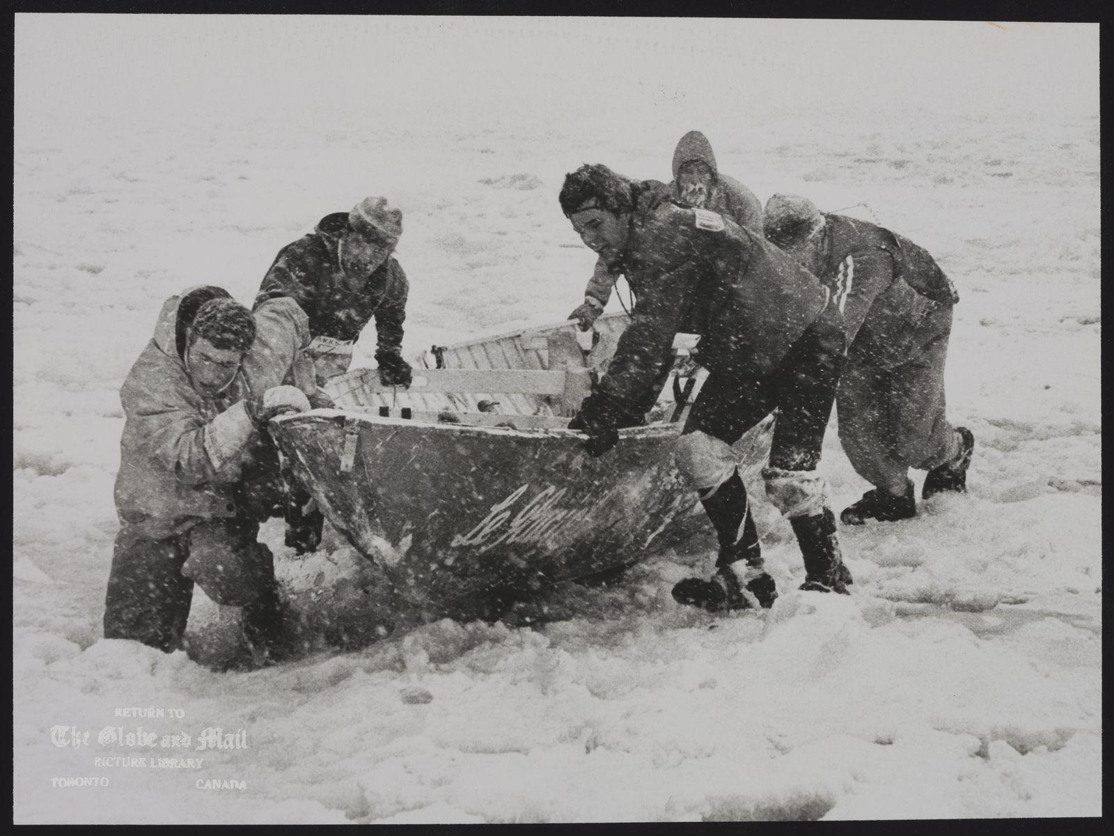 ICE CANOES