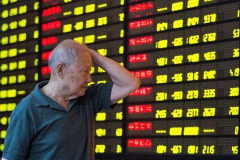 China stocks fall as regulatory curb talk spooks traders