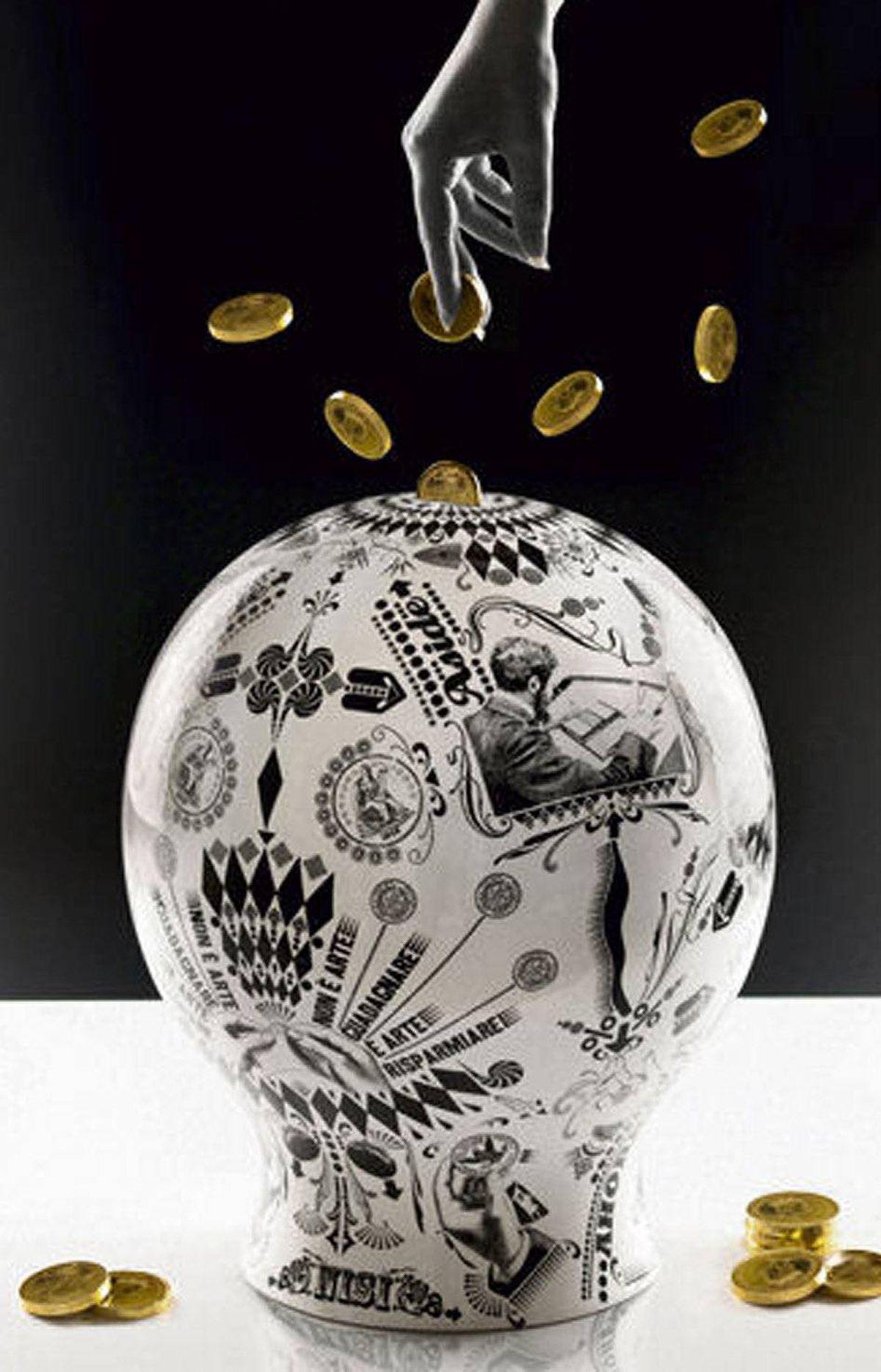 The Money Box by Lorenzo Petrantoni for Seletti.