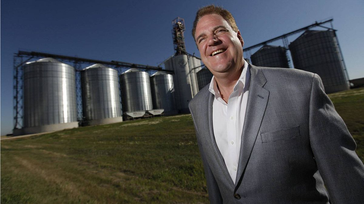 Paterson GlobalFoods CEO Andrew Paterson.