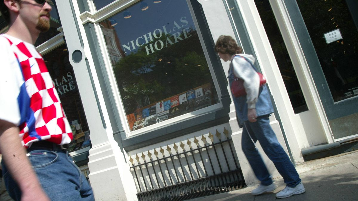 The Nicholas Hoare outlet in Toronto's St. Lawrence Market neighbourhood has an uncertain future after its sister stores in Ottawa and Montreal are preparing to close.
