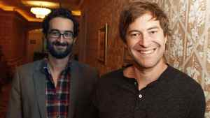Directors Jay (left) and Mark Duplass at the Royal York Hotel in Toronto on Sept. 14, 2011.