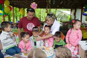 The Gosselin family throws a party to celebrate the sextuplets fifth birthday