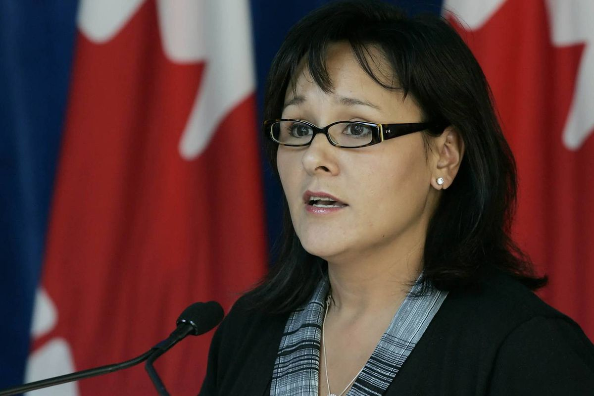 Leona Aglukkaq, Federal Minister of Health, announces an investment by the Government of Canada of $135 million for new construction and the renovation of health services infrastructure in First Nations communities across Canada, Tuesday, September 1, 2009, in Winnipeg.