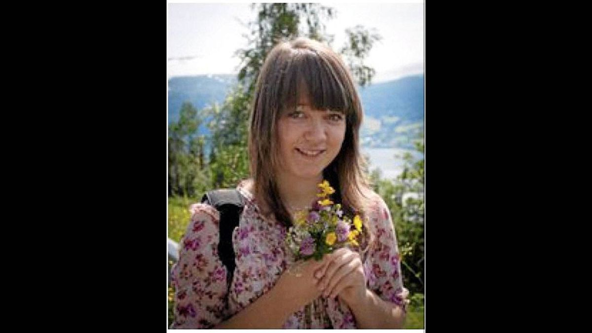 Hanne Kristine Fridtun, seen in this Image from Facebook, was one of the victims from Utoya island.
