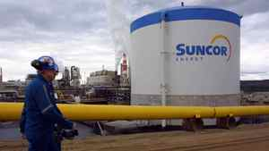 A Suncor plant in Fort McMurray, Alta.